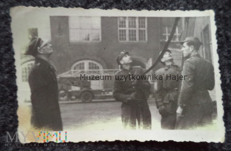 Straż Pożarna zdjecie 1947 rok
