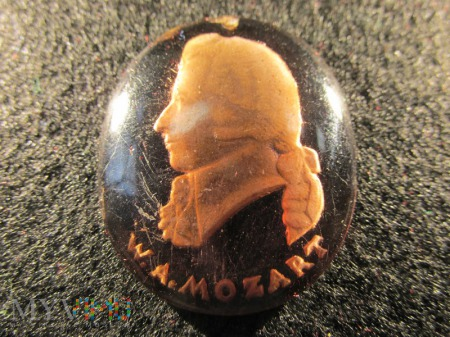Szklane medaliony-KWHW W.A.Mozart