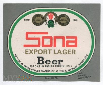 Bangalore, sona beer