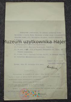 Ksiądz Goleń - kapelan wojskowy W.P.