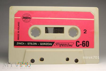 Taśma magnetofonowa w kasecie Stilon C-60