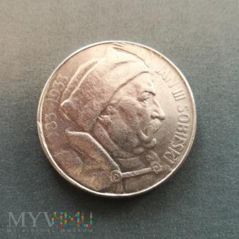 10 złotych Sobieski 1933 FALS