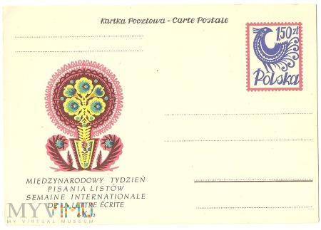 Międzynarodowy Tydzień Pisania Listów-1957.10.07.1
