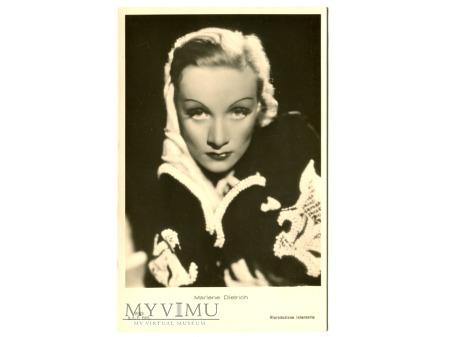 Marlene Dietrich Ballerini Fratini Postcard 2900