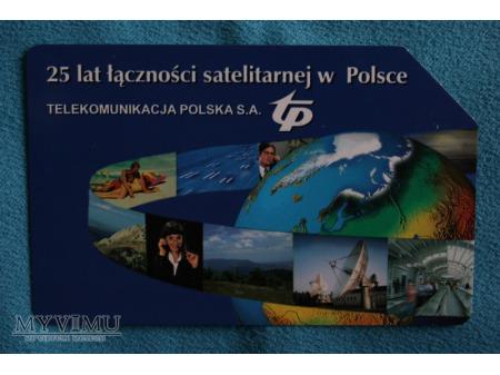 25 Lat łączności satelitarnej w Polsce