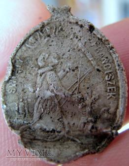 Duże zdjęcie medalik - św.Franciszek i św.Antoni Padewski