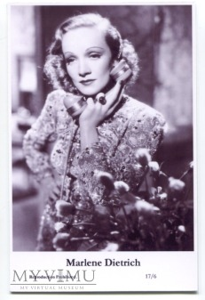 Marlene Dietrich Swiftsure Postcards 17/6