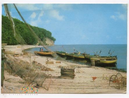 Gdynia Orłowo - Przystań rybacka - lata 70-te