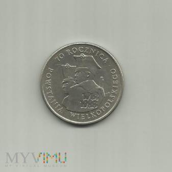 100 złotych ,1988 70 Rocznica Powstania Wielkopols
