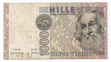 Włochy.12.Aw.1000 lire.1982.P-109a