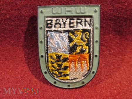 BAYERN - herby okręgów granicznych- odznaka WHW