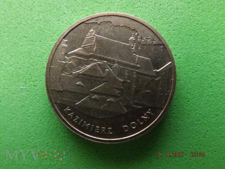 Polska 2 złote, 2008 - KAZIMIERZ DOLNY