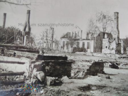 spalone domy Zambrów 1939
