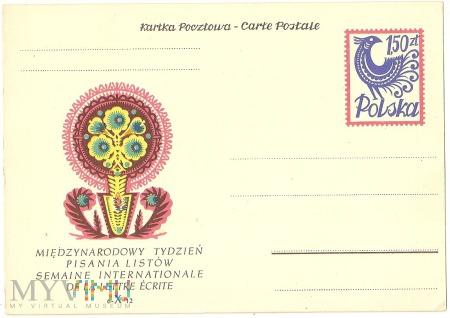 Międzynarodowy Tydzień Pisania Listów-1957.10.07.2