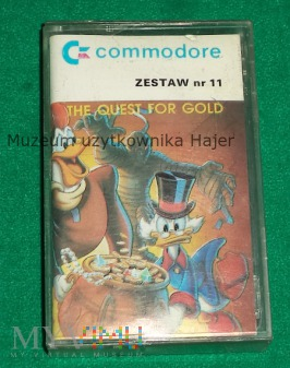 The Quest For Gold gra na commodore