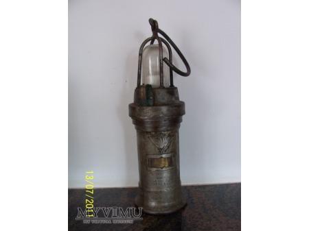 LAMPA GÓRNICZA ELEKTRYCZNA - TYP 950 - 1936r