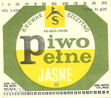 Browar Szczytno - Piwo pełne jasne - 3,00