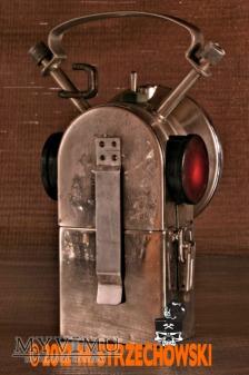 Kolejarska lampa elektryczna Dominit