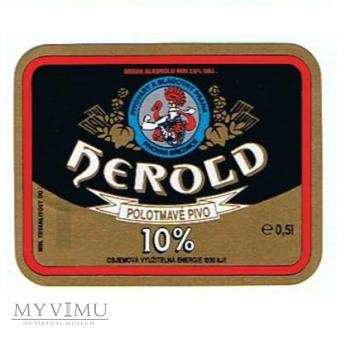 herold polotmavé pivo
