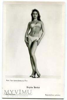 Brigitte Bardot Niemcy UFA Postcard Pocztówka