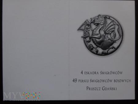 Legitymacja 4 Eskadry Śmigłowców ; druk