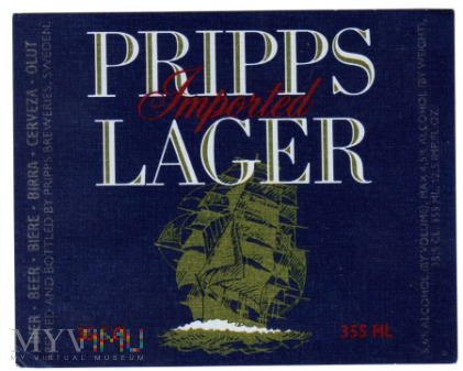 PRIPPS Imported Lager