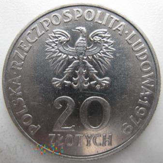 20 złotych - 1979 r. Polska