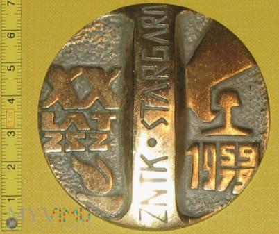 Medal kolejowy - firmowy ZSZ ZNTK Stargard