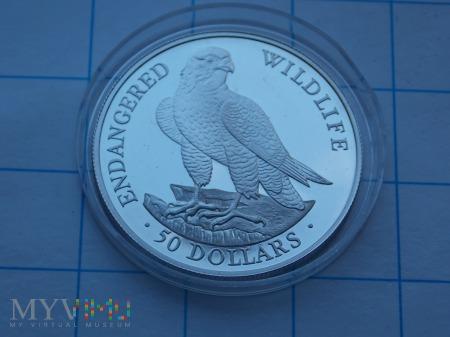 50 DOLARÓW 1991 - WYSPY COOKA