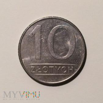 10 złotych 1988, Polska Rzeczpospolita Ludowa