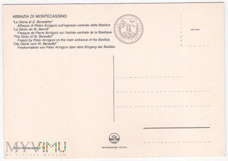 Monte Cassino - La Gloria di S. Benedetto