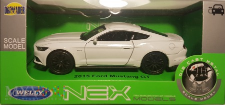 16. Ford Mustang 1:34 box