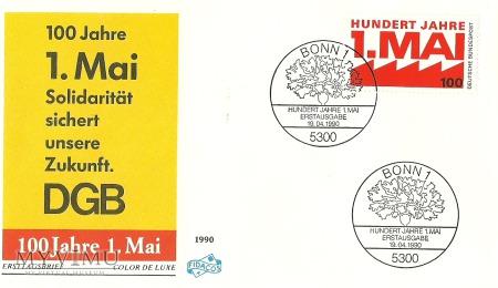 100 lat święta 1 maja - Niemcy (RFN)