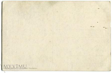Philip Boileau Panieńskie rozmyślania pocztówka