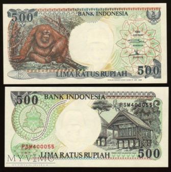 Indonesia - P 128 - 500 Rupiah - 1992