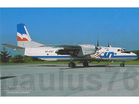 An-26B, SP-FDT, EXIN