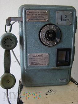 Aparat telefoniczny wrzutowy AW 652 rok 1971