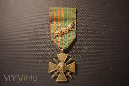 Francuski Krzyż Wojenny 1914 - 1915 z Palmą