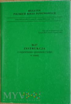 2000 - D17 Instr. o zapewnieniu sprawności w zimie