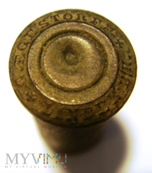 łuska 10,6x25R Reichsrevolver.