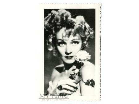 Marlene Dietrich Celuloide Stars Pocztówka