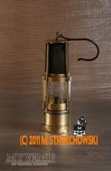 Lampa górnicza benzynowa Kubala & Comp.