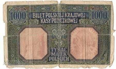 1000 marek polskich - 1916 rok.