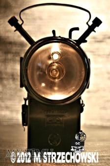 Duże zdjęcie Kolejarska lampa elektryczna Dominit