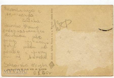 Karkonosze - wodospad i wąwóz Kamieńczyka - 1949