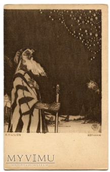 Abraham E.M. EPHRAIM MOSHE LILIEN postcard