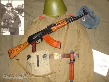 Duże zdjęcie Mundur zimowy Armii Radzieckiej