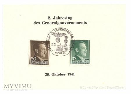 Kasownik nr 15. Zwei Jahre GG - Lemberg