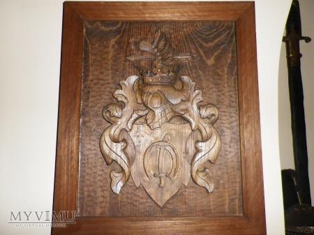 Herb Zagłoba- tablica herbowa nr 1