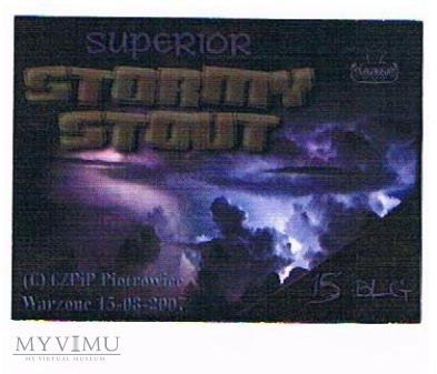 superior stormy stout